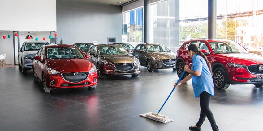 Showroom Cleaning Services - HRS Asia